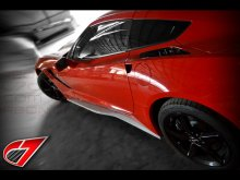C7 Corvette | GTX Side skirt set | Fiberglass