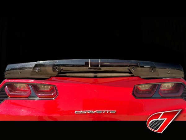 C7 Corvette Stingray | Z06 Stage-2 Rear Spoiler | Carbon Fiber