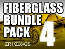 FiberGlass Bundle Pack #4 for ZR1/Z06/GS