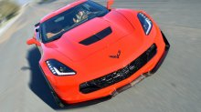 [2014-] Corvette | Z07 style splitter winglets | Carbon FLASH