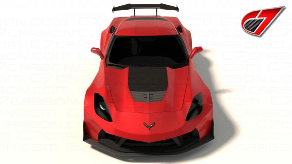 Corvette C7R Wide Body Conversion Kit for C7 Stingray / Z06