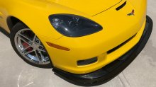 06-13' Z06/GS/ZR1 ZR1 front splitter Ext. version | Carbon Fiber