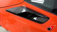 C7 Corvette | Z06 Quarter panel Intake Ducts-Vents| Carbon Fiber