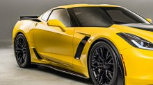 C7 Corvette | Z06/Z07 OEM style Side skirt set | Carbon FLASH