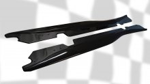 C7 Corvette | GTX Side skirt set | Carbon Flash