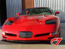 Corvette Headlight Covers Carbon Fiber