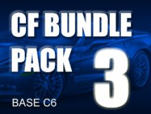 Carbon Fiber Bundle Pack # 3 for BASE C6