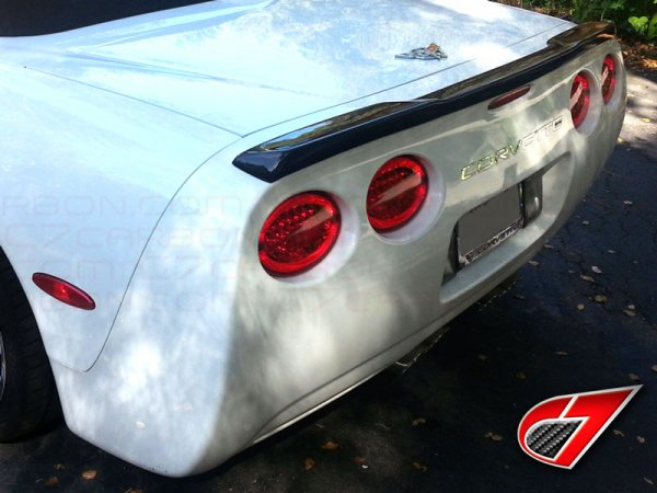 ZR1 style Rear Spoiler | Carbon Fiber FOR C5