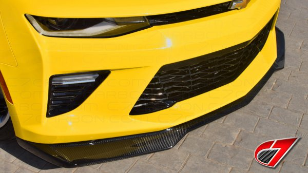 2016-Up Camaro | ZL1 Front Splitter for Camaro SS | Gloss Black