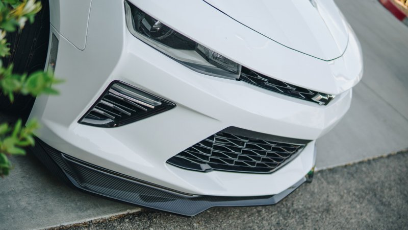 2016-Up Camaro | ZL1 Front Splitter for Camaro SS | Carbon Fiber