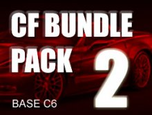 Carbon Fiber Bundle Pack # 2 for BASE C6