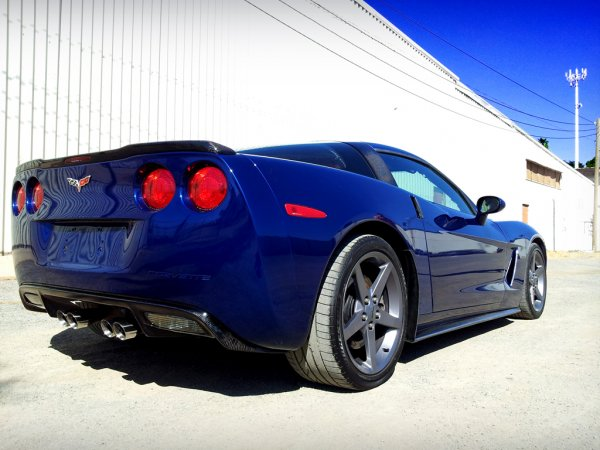 Corvette ZR1 Rear spoiler | Carbon Fiber