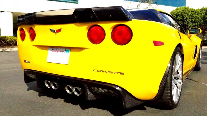 for 05-13 C6 | C7 Z06 stage-2 style Rear Spoiler | Gloss Black