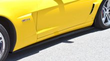Corvette ZR1 Side skirts with CF mudflaps | Carbon Fiber