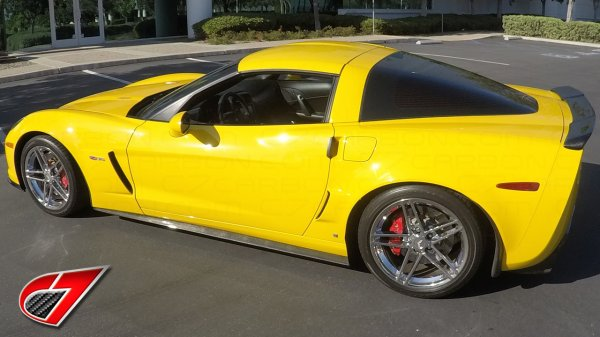 ZR1 Corvette Rear Spoiler extended version | Carbon Fiber