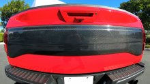 F150 Raptor Tailgate Trim applique Carbon Fiber