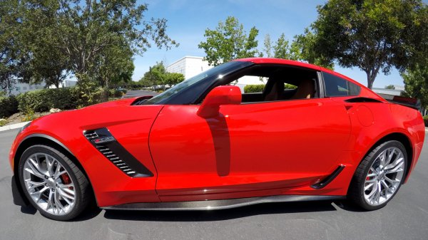 C7 Corvette | GTX Side skirt set | Carbon Fiber