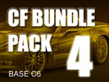 Carbon Fiber Bundle Pack # 4 for BASE C6