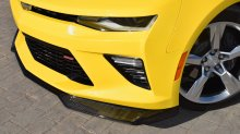 2016-Up Camaro | ZL1 Front Splitter for Camaro SS | Satin Black