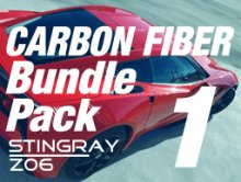 2014-up C7 Corvette | Bundle Pack #1 | Carbon Fiber