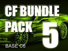 Carbon Fiber Bundle Pack # 5 for BASE C6