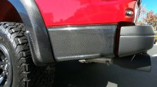 F150 Raptor Rear bedside fender lower Trim Carbon Fiber