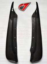 BASE C6 | Rear Fender - Rear section Mudflaps | Carbon Fiber