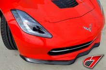 [2014-] C7 Corvette | GTX Front splitter W/O side splitters | CF