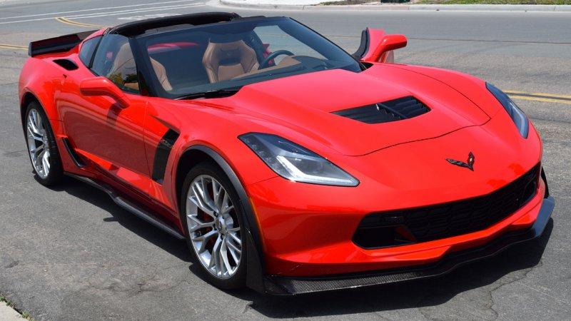 C7 Corvette   Z06/Z07 OEM style Side skirt set   Carbon Fiber