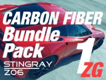 2014-up C7 Corvette | Bundle Pack #1 ZG | Carbon Fiber
