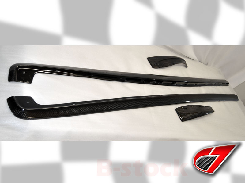Item 1043 | ZR1 style side skirts for BASE C6 | Carbon Fiber