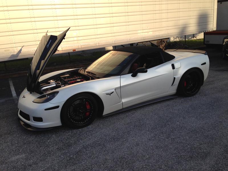 Zr1 Extended Spoiler Corvette Zr1 Extended Side