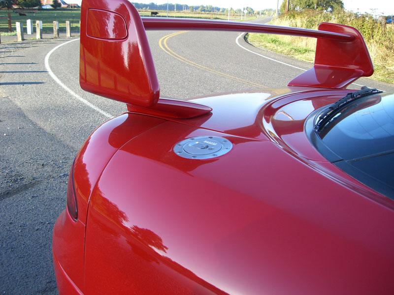 S Wide Body Reard Fenders on 3000gt Rear End