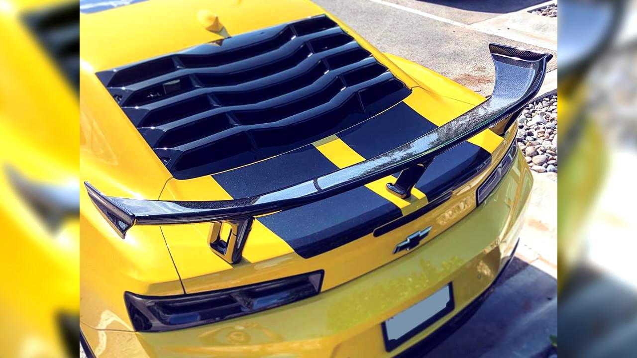 Reviews Camaro Zl1 1le Style Rear Wing Carbon Fiber