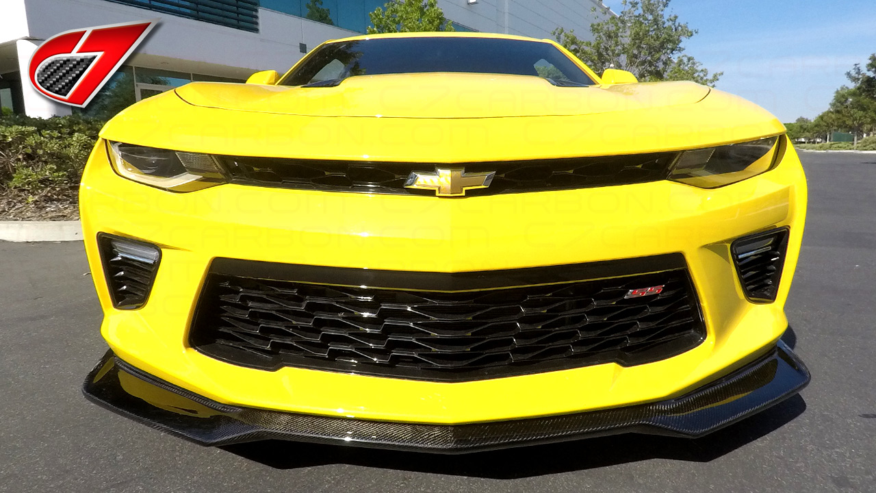 Camaro Zl1 Front Splitter For Camaro Ss Satin Black