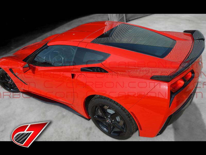 C7 Corvette Stingray Gtx Rear Spoiler Carbon Fiber C7 Ccc7 Gtx Rs Cf 551 08 C7 Carbon