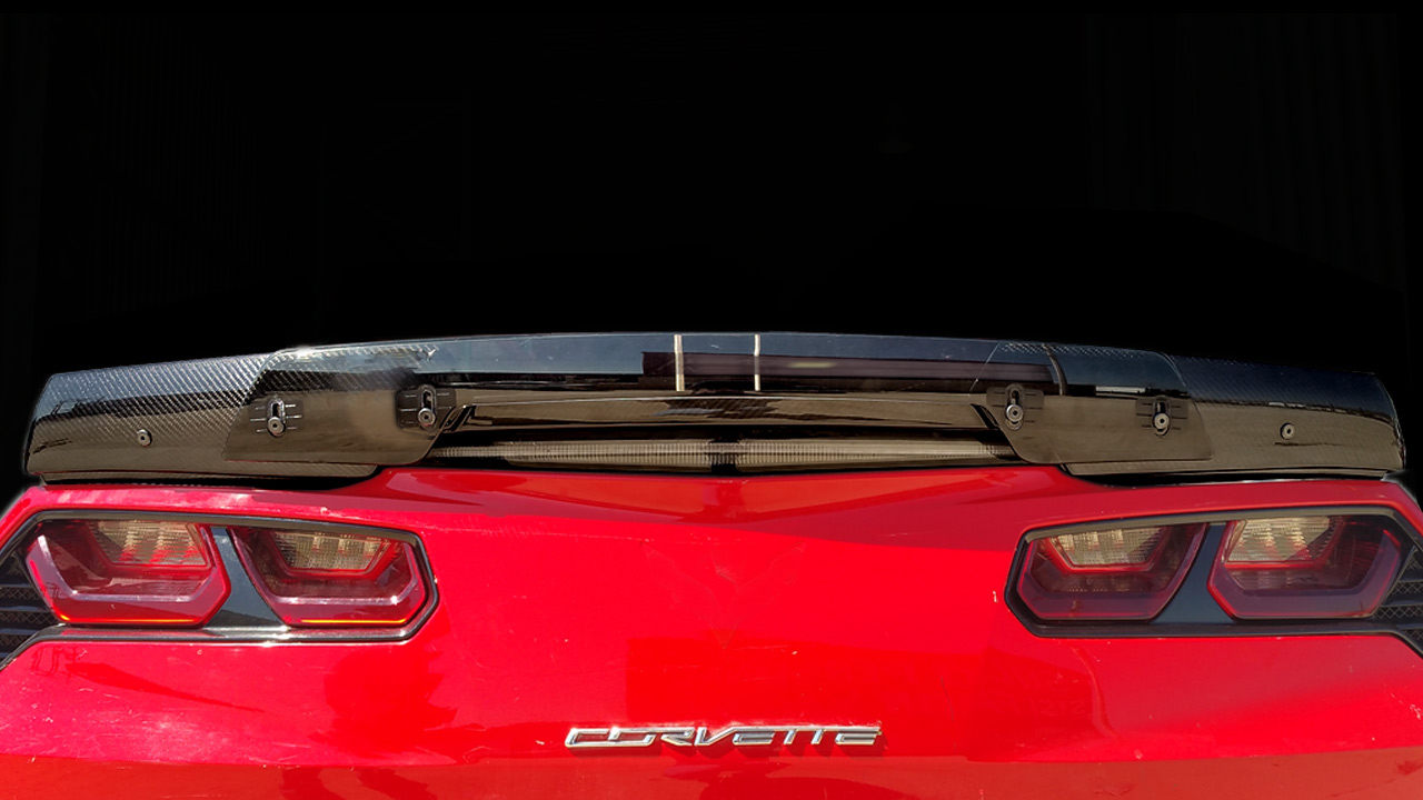 C7 Corvette Z06 Rear Spoiler | Fit to Stingray | Carbon Fiber