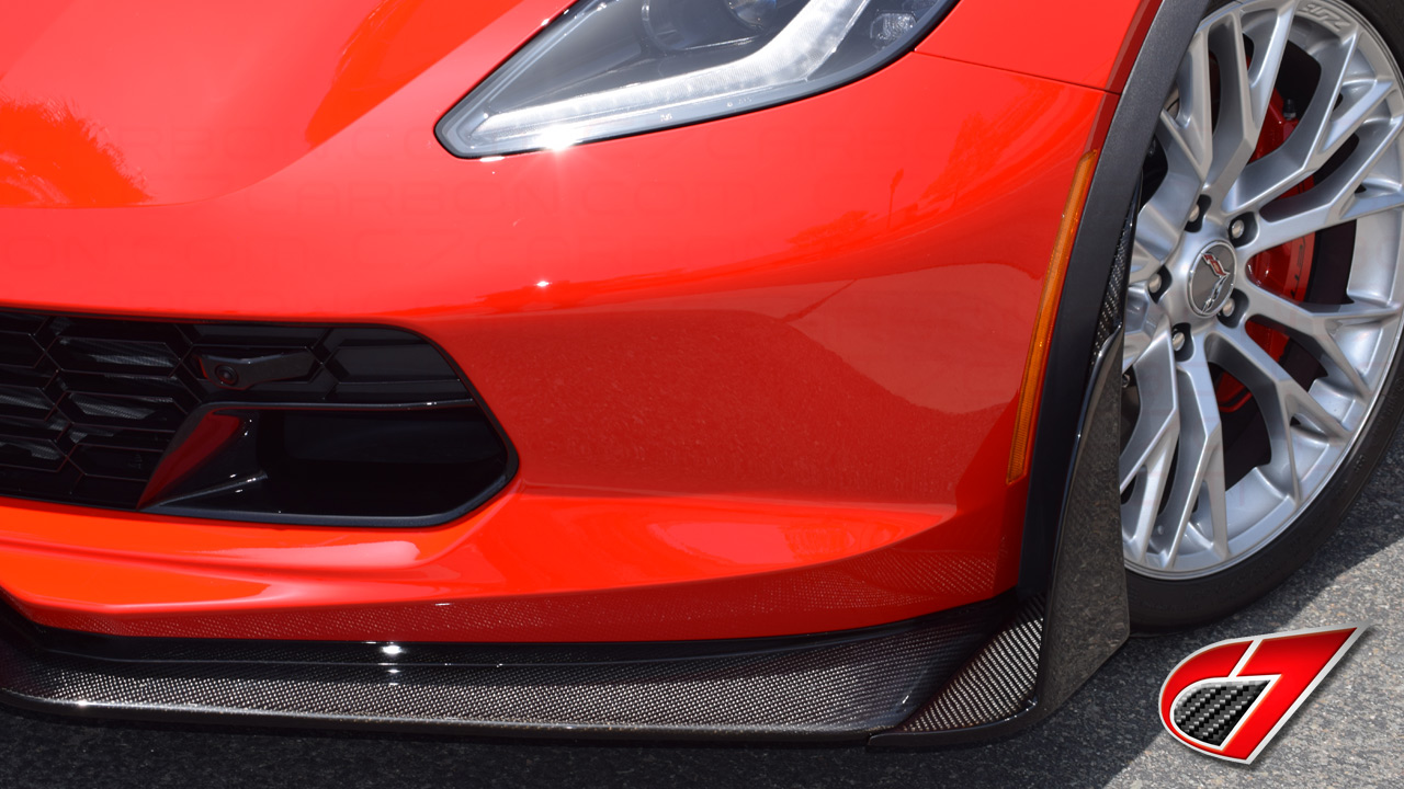 C7Carbon | NOW AVAILABLE | C7.R style Front Splitter ...
