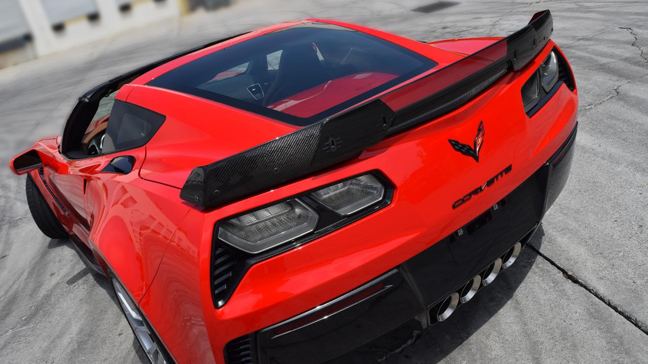 Z07 >> C7 Corvette Z06, Z06/Z07 Rear spoiler | Carbon Fiber [C7-CCC7Z-Z06-RS-CF] - $719.10 : C7 Carbon ...