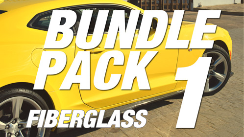 Camaro 6 | Bundle Pack #1 | Fiberglass