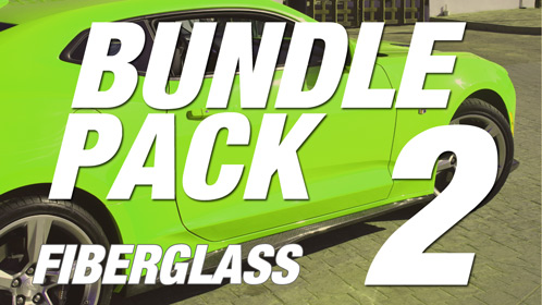 Camaro 6 | Bundle Pack #2 | Fiberglass