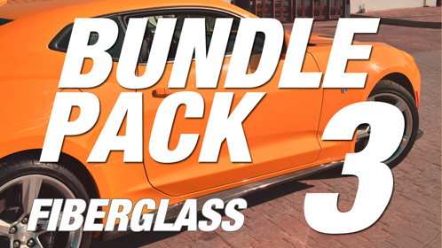 Camaro 6 | Bundle Pack #3 | Fiberglass