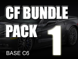 Carbon Fiber Bundle Pack # 1 for BASE C6
