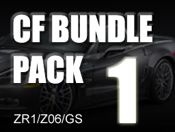 Carbon Fiber Bundle Pack # 1 for ZR1/Z06/GS