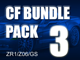 Carbon Fiber Bundle Pack # 3 for ZR1/Z06/GS