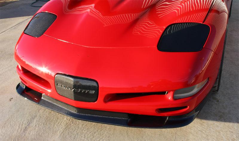 C7 Corvette Stingray Gtx Rear Spoiler Carbon Fiber C7