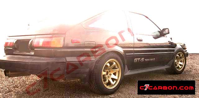 Toyota Corolla AE86 JDM Side
